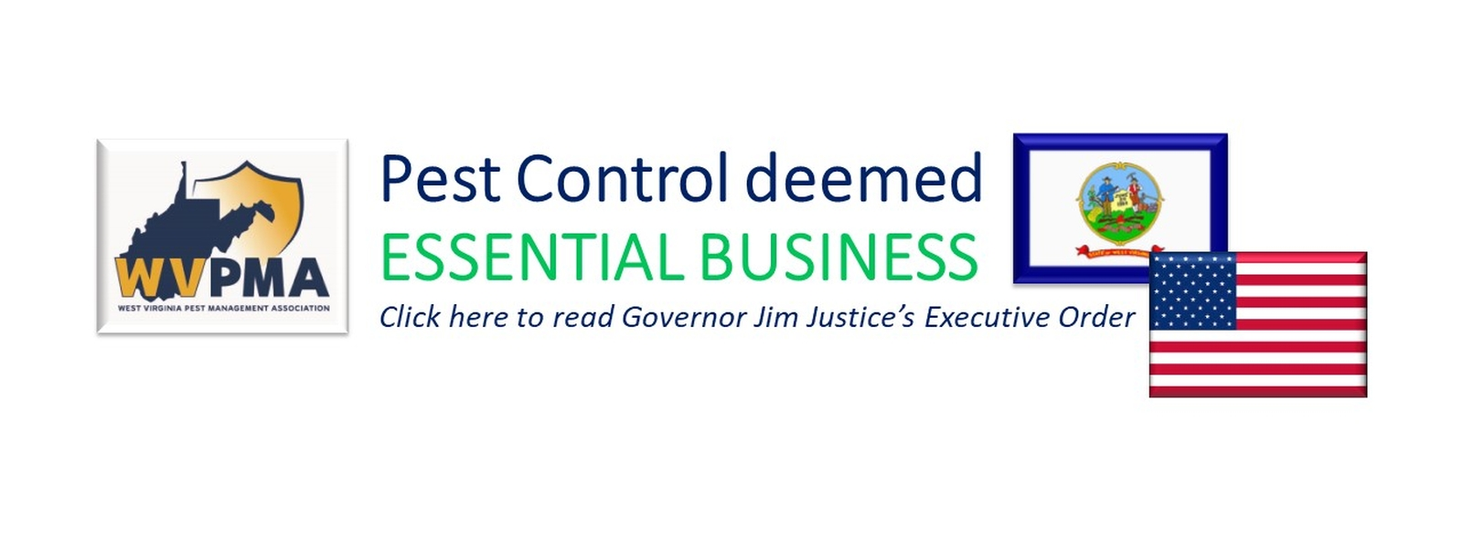 WV Essential Business Executive Order